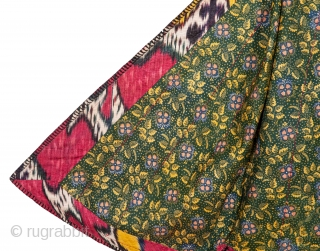 Silk Ikat Chapan, Tajikstan