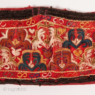 Turkmen Chodor Embroidered Head Band