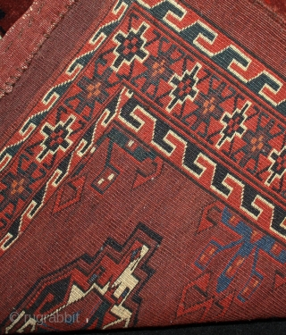Antique Yomut Group chuval with great naturel Colors and super quality   size: 78x120cm
