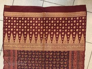 Indonesian Sumatra  silk textile