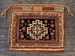 Persian afshar bagface , 46x43cm