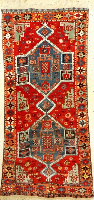 Anatolian Kurdish rug in untouched condition 220x100cm