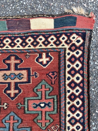 Shahsavan Sumak bagface - Sartirana Textile Show in Turin - from 21st to the 25th October 2020 - together with apart Antiques Fair, #karlsruhe #suedliche_waldstrasse #antiquerugs #antiquekilim #islamicart #interiordesign #decoratifart #decoration #luxury  ...