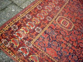 Besheir Kahn Carpet 206cm x 515 cm  Needs some Work on it.