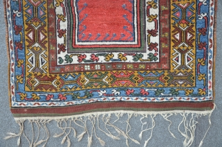 Konya Prayer Carpet, 162 x 103 cm (without frings), ca. 1900