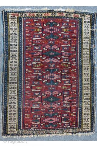Small antique Kuba, 103 x 78 cm