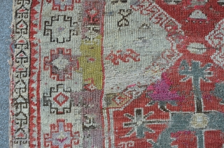 Prayer rug, 121 x 93 cm, synthetic dyes