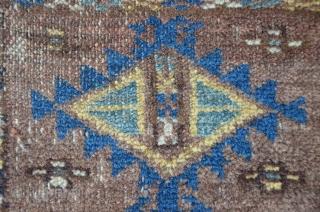 Small antique Beshir, 114 x 83 cm, no repairs