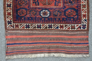 Large Baluch bagface, 110 x 87 cm, nice condition