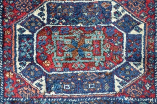 East anatolian Diwan carpet, 201 x 95 cm, meaty flor with great colors.