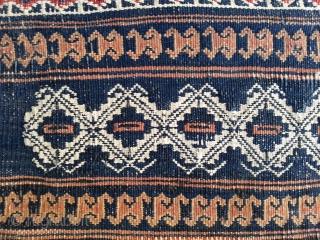 Baluch bag with Sumakh stiches, first half 20th, 100x 77 cm