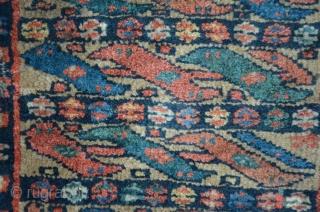 Jaff Bagface 47 x 42 cm, Camel field color