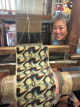 """Lecture in Los Angeles, Saturday, May 5, 2018: """"Velvet, a Worldwide Passion: Handweaving Techniques of Uzbekistan, Turkey, India, Japan, China, Italy, France and England"""" with Barbara Setsu Pickett, Associate Professor Emeritus in  ..."""