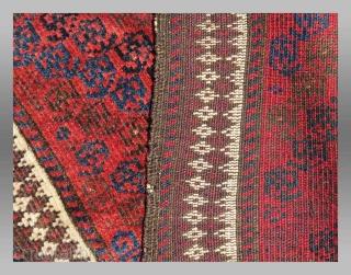 "Baluch Balisht(?), NE Persia,  19th century, 1' 5"" x 3' 1""