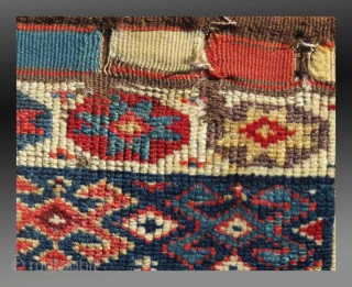 """Kurd/Shahsevan """"Khorjin"""" (saddle bag), NW Persia, 19th C., 1'6"""" x 3'4""""  Please inquire for further information / details"""