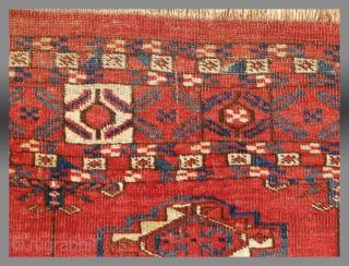 "Tekke Turkmen Chuval, Central Asia, 19th Century, 3'5"" x 2'6""