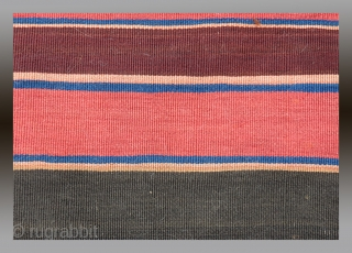"""Veramin Region Bag Face, N. Persia, 19th C., 2'9"""" x 2'10""""  Good pile, complete bag face (half of a """"khorjin""""/donkey bag).  All the colors are derived from natural dyes.  Please inquire for further  ..."""