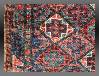 "Baluch Balisht, SE Persia, 19th C., 1'6"" x 2'7""