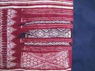 bakhnuq, tunisian cape, about 1950, 148 x 118 cm, 58,26 x 46,45 inches, perfect condition