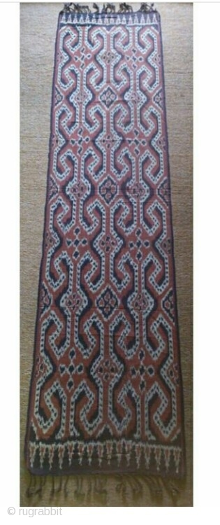 Indonesian ikat size: 180*44cm