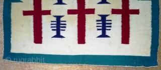 Navajo kilim, no: 361, size: 54*54cm.