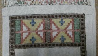 Antique Swedish Kilim, no: 249, size: 102*40cm, wall hangings.