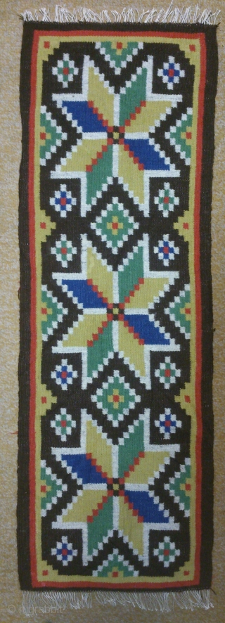 Antique Swedish kilim(Rolakan technique), no: 221, size: 83*28cm, wall hangings.