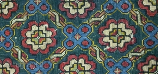 Antique swedish cross stitch, no: 110, size: 102*48cm.