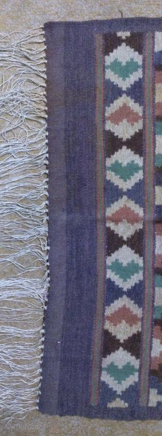 Antique Swedish kilim(Rolakan technique), no: 345, size: 82*58cm, pictorial design, wall hangings.