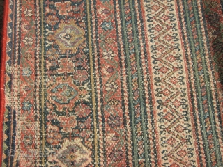 Late 19th c Agra Carpet,large sized carpet, Hand woven ssize : 27' x 17'  mina Khani design, some restoration done at few places. good pile, no worn areas or tinted areas. wool pile on cotton  ...