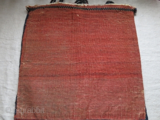 "Qashkai pile bag, great condition with original side wrapping, backing and loops, fine Shakarlu weaave with saturated colors - Circa 19th cent. Size: 21"" X 20"" - 53 cm X 51 cm  ..."