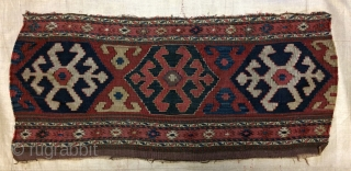 Shahsavan panel very fine quality and very nice old, size 40x93cm