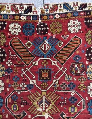 Shirvan carpet size 142x122cm