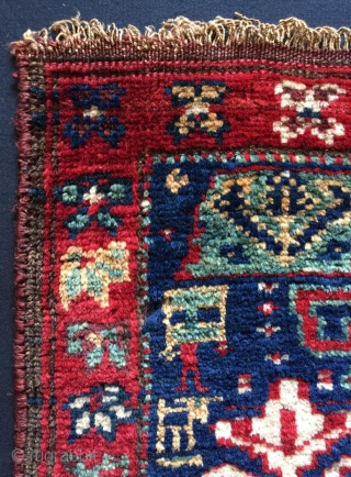 Rare Khurdis Shahsavan Bag Face size 1'5 x 1'4 ft