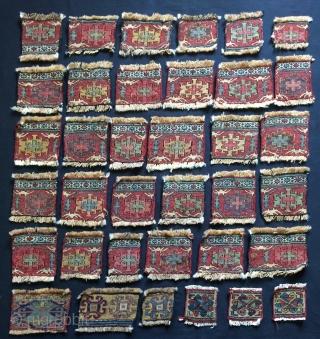Shahsavan Fragmants 36 Pieces