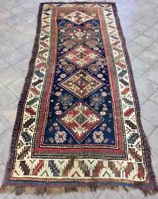 Shahsevan carpet size 300x126cm