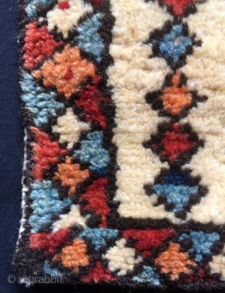 Shahsavan saddle bag all colors natural dyes. Size 22x28cm 23x29cm