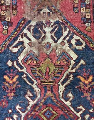 Persia  Kurdish runner carpet size 420x84cm