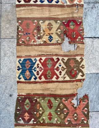 Anatolian Kapodokya  kilim size 435x78 cm