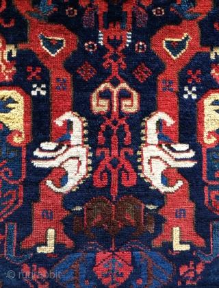 Rare zehur small carpet size 100x70cm