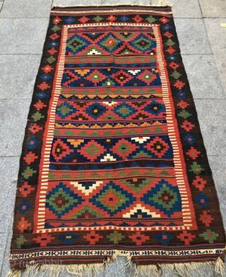Rare Shahsavan kilim size 180x90cm