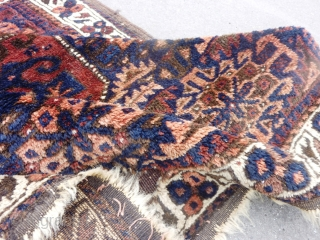 Persian Baluch bag face (77X84cm).