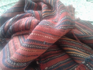 In good condition flexible kurdish jajim from Iran.