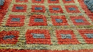 "No.A0046 * Tibetan Wangden Mat-Rugs.Size: 93x94cm(37""x37"").wool/wool Origin: Tibet Shape: Square ."