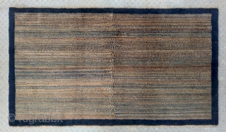 "No.R119 * Chinese ""Old Beijing"" Rug.Size: 91x160cm(3'x5'3"").Origin: Beijing. Shape:Rectangle."
