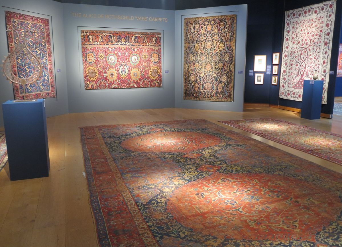 The Alice De Rothschild Vase Carpets, Christie's London 19 April, 2016