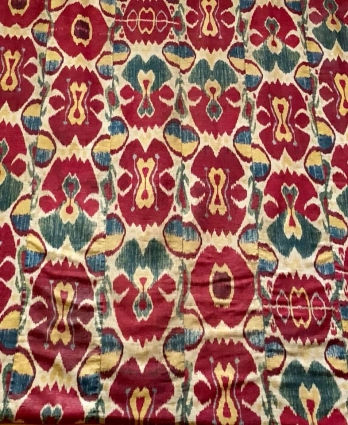 Central Asian ikats from the Guido Goldman collection, ICOC 2018 in Washington, DC