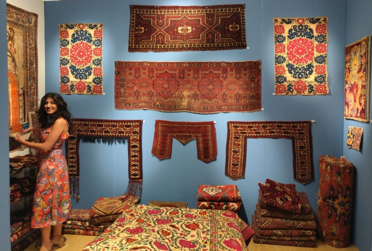Amin Motamedi', Salor kejebe, Arabachi trapping, Turkmen kapuniks, Algerian embroideries, and much more