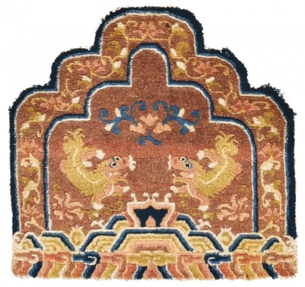 11. Chinese throne back
