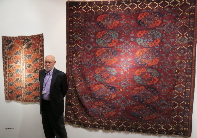 San Francisco Textile and Tribal Art Show 2018, Peter Pap Artful Weavings, Robert J. Emry